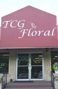TCG floral storefront